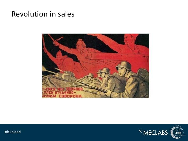 Revolution in sales#b2blead