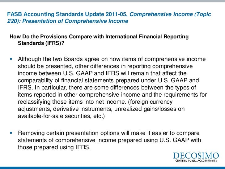 fasb codification project The guidance for real estate project costs is contained within asc 970, real  estate  excerpt from accounting standards codification.