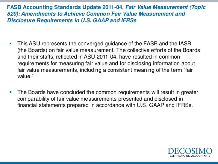 fasb codification accounting memo Effective july 1, 2009, the financial accounting standards board (fasb) completed its accounting standards codification (codification) of us generally accepted accounting principles (gaap.