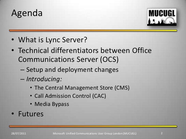 Introduction to Microsoft Lync Slide 2