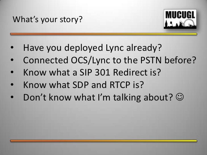 Voice Resiliency in Lync Server 2010 Slide 2