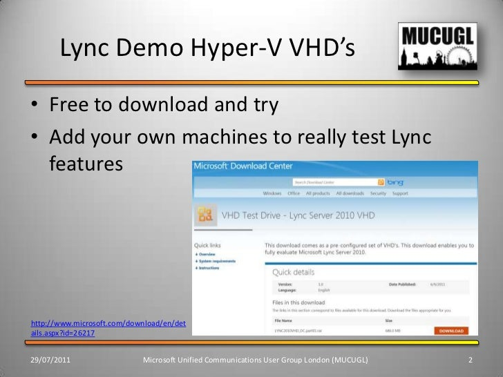 Lync/Industry Update and Useful Resources Slide 2