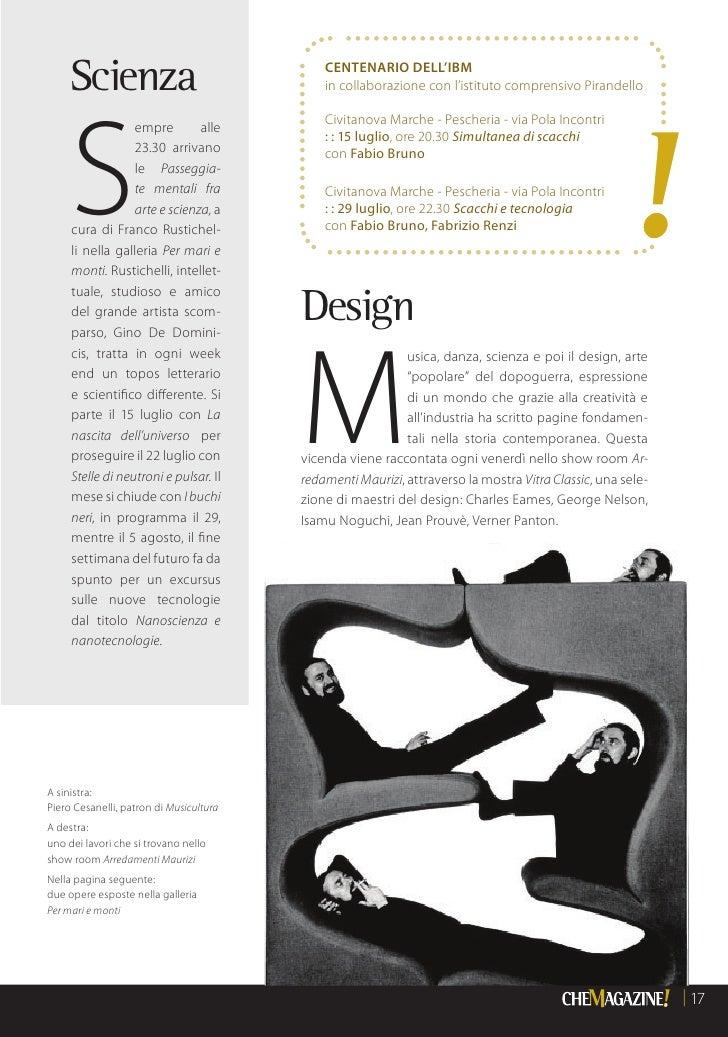 Chemagazine civitanova 2011 for Marcucci arredamenti