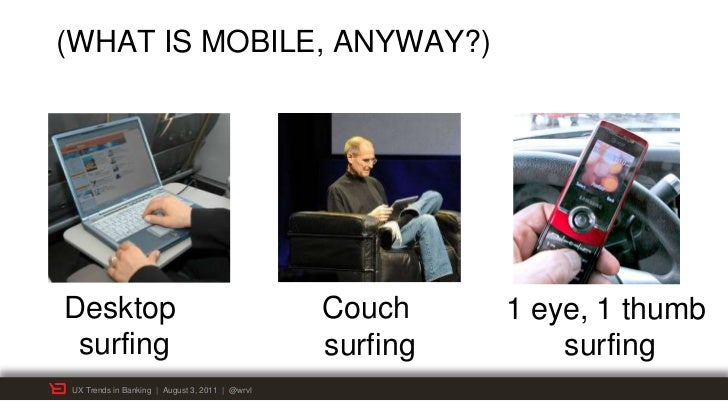 (WHAT IS MOBILE, ANYWAY?)Desktop                                         Couch     1 eye, 1 thumb surfing                 ...