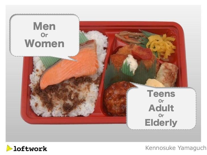Men  OrWomen        Teens           Or        Adult           Or        Elderly        Kennosuke Yamaguch