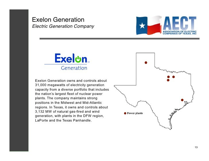 Exelon houston tx