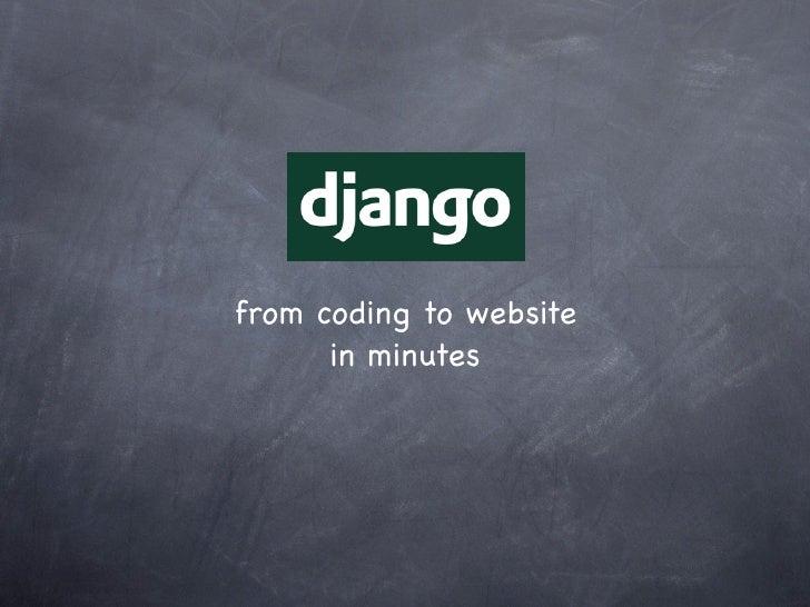 $django‐admin.pystartprojectbarcampsg7_django$pythonmanage.pyrunserver#insettings.pyENGINE:django.db.backend.sqli...