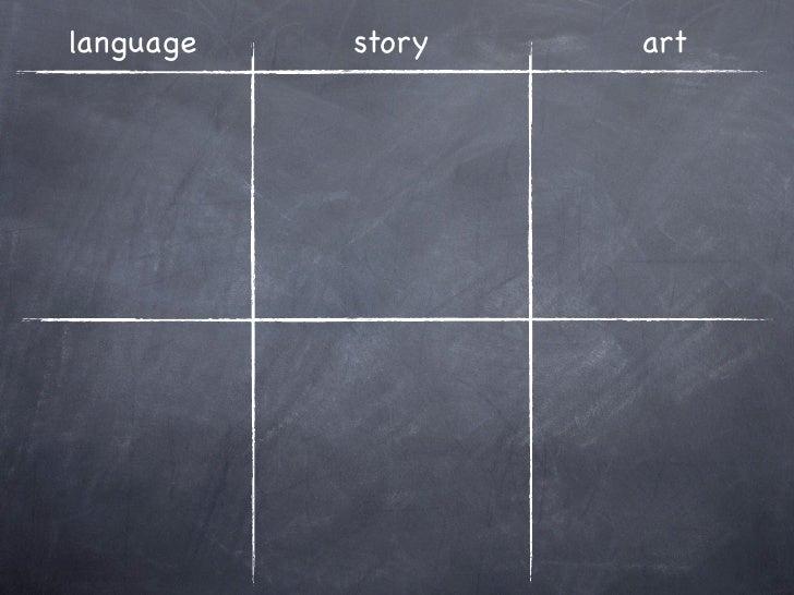 language   story   art