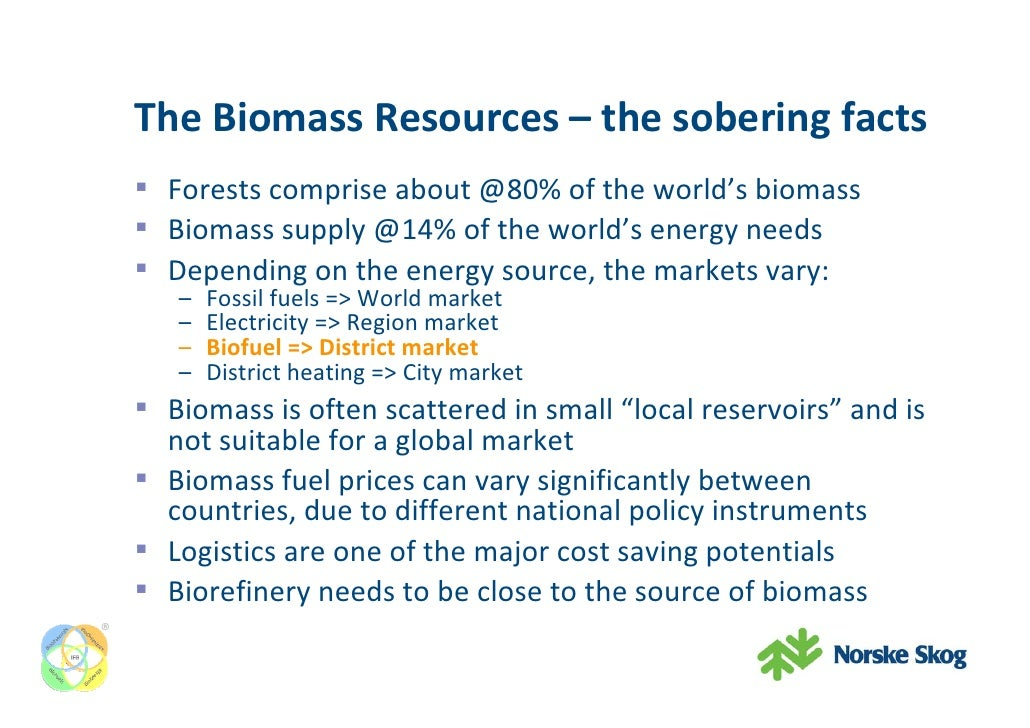 Integrated Forest Biorefinery Biomass Utilisation At The