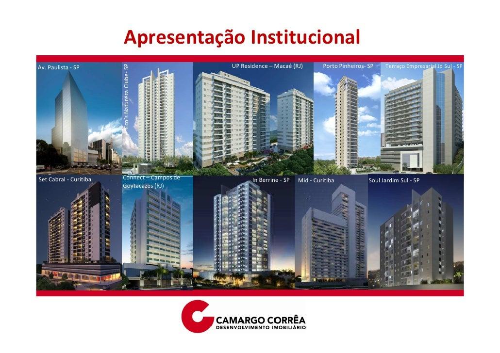 Apresentação Institucional                                                   UP Residence – Macaé (RJ)         Porto Pinhe...