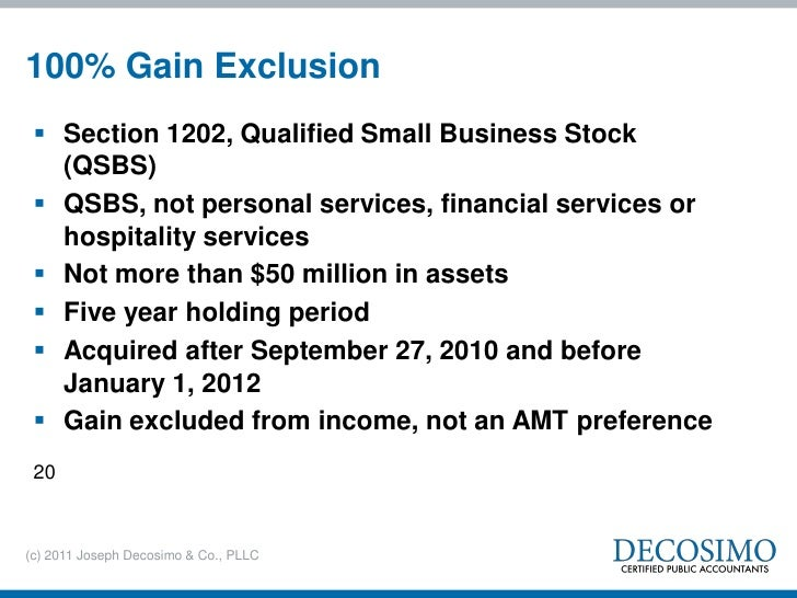 Qualified stock options holding period