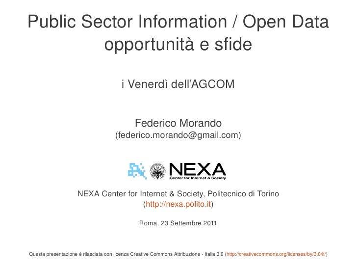 PublicSectorInformation/OpenData             opportunitàesfide                                              iVener...