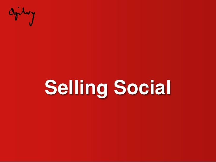 Selling Social<br />
