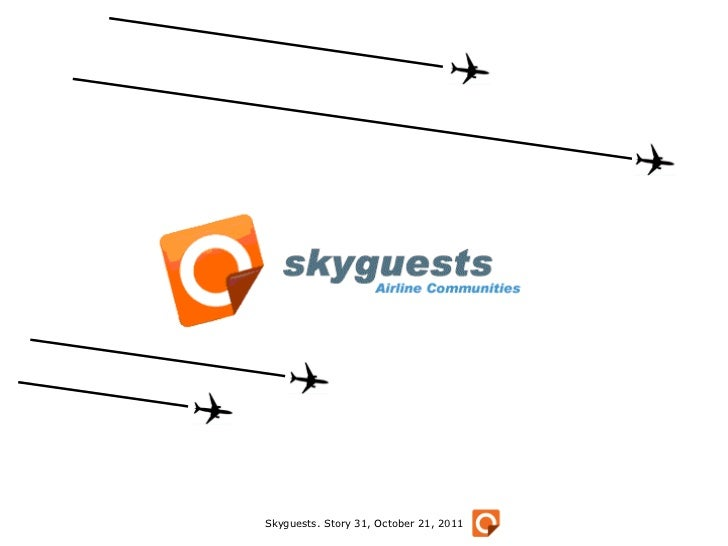 Skyguests. Story 31, October 21, 2011