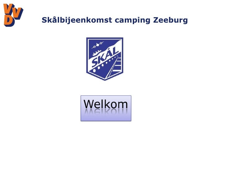 Skålbijeenkomst camping Zeeburg