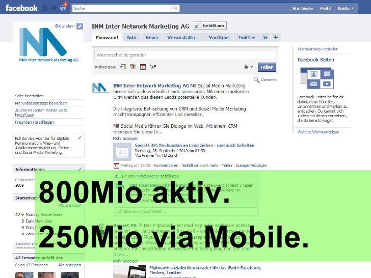 800Mio aktiv. 250Mio via Mobile.