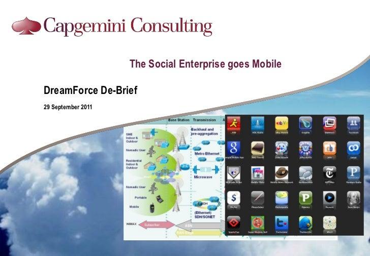 The Social Enterprise goes MobileDreamForce De-Brief29 September 2011