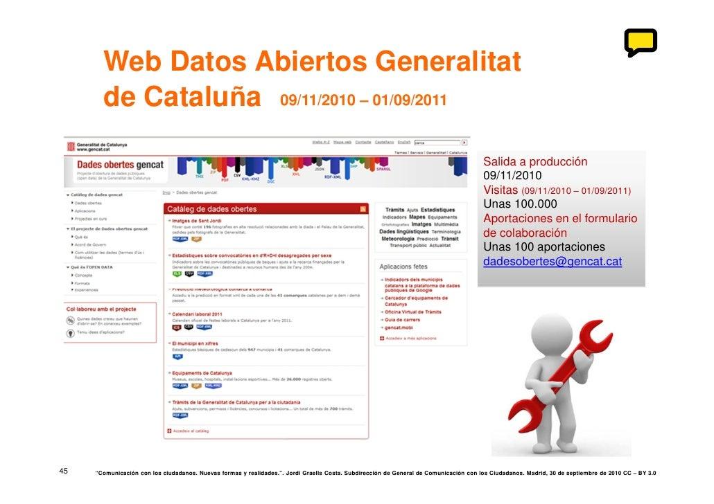 Comunicaci n con los ciudadanos nuevas formas for Oficina virtual generalitat