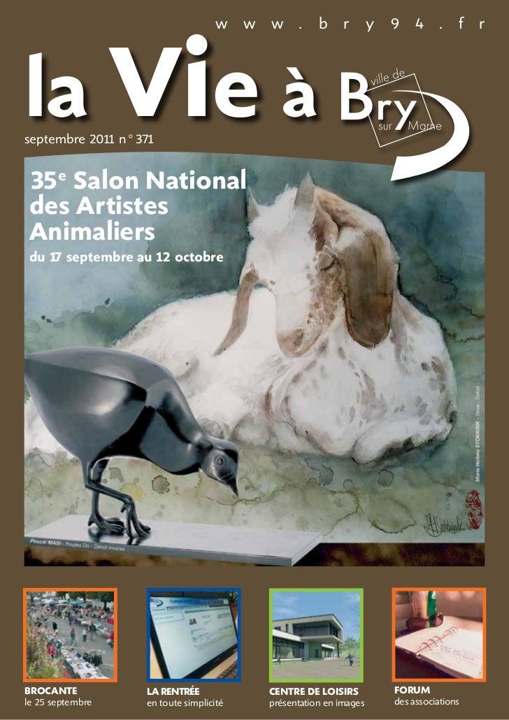 la Vie à                                  w     w   w .        b     r       y   9 4 .          f   rseptembre 201 n°371  ...