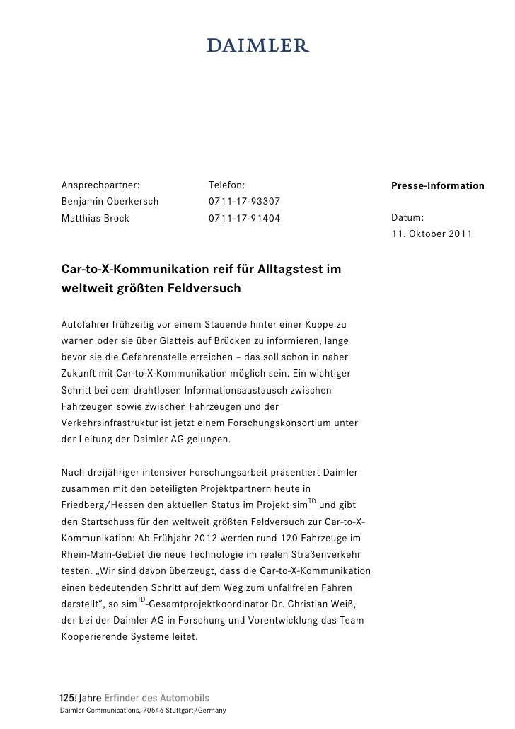 Ansprechpartner:                          Telefon:                   Presse-InformationBenjamin Oberkersch                ...