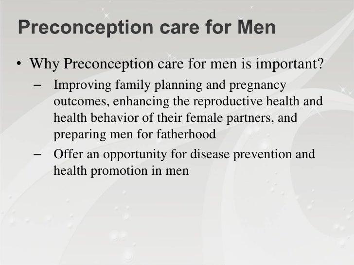 6)Risk Behaviors① Tobacco  –   Associated with decreased sperm count , abnormal sperm      morphology, motility, fertilizi...