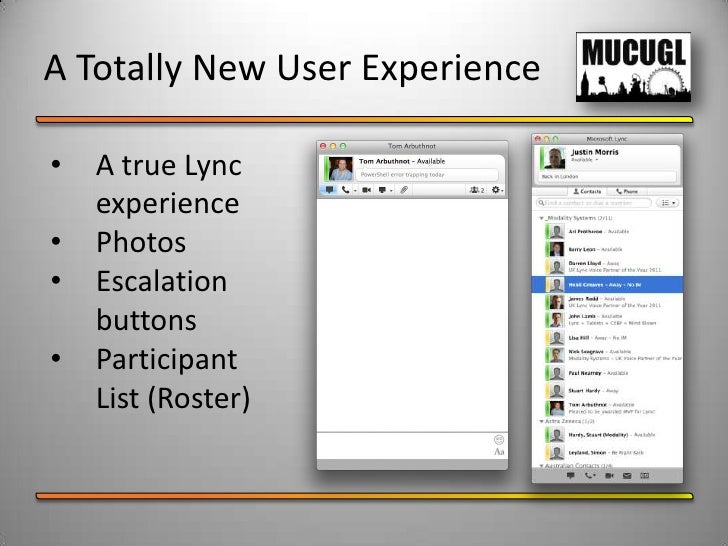introducing lync for mac 2011