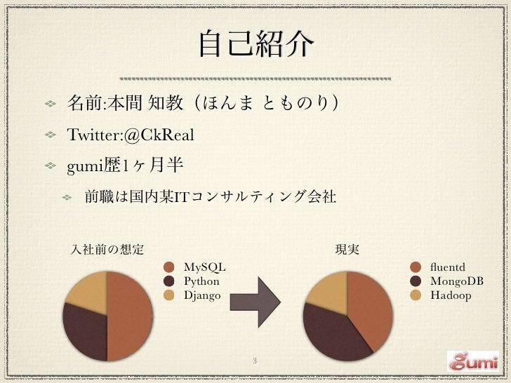 ソーシャルゲームログ解析基盤のMongoDB活用事例 Slide 3
