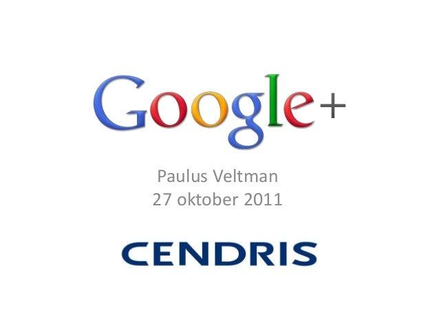 Paulus Veltman 27 oktober 2011