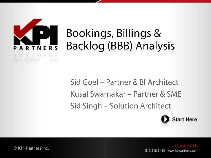 Start Here© KPI Partners Inc.                                         Contact Us                      510.818.9480 | www.k...