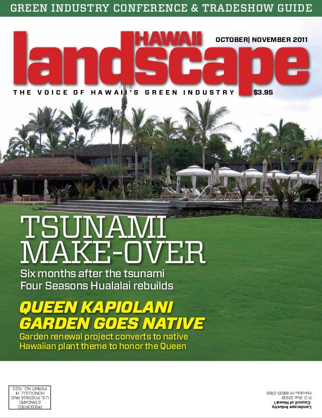 Lich Landscape Hawaii Magazine Octobernovember 2011 Issue