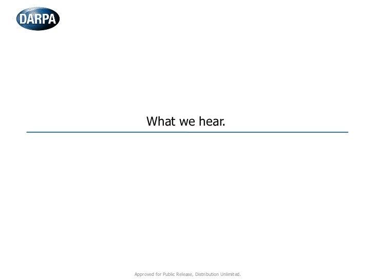 DARPA: Cyber Analytical Framework (Kaufman) Slide 3
