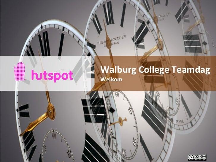 Walburg College Teamdag Welkom