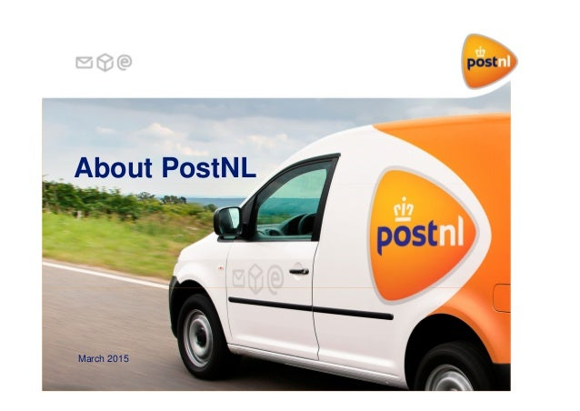 About PostNL March 2015