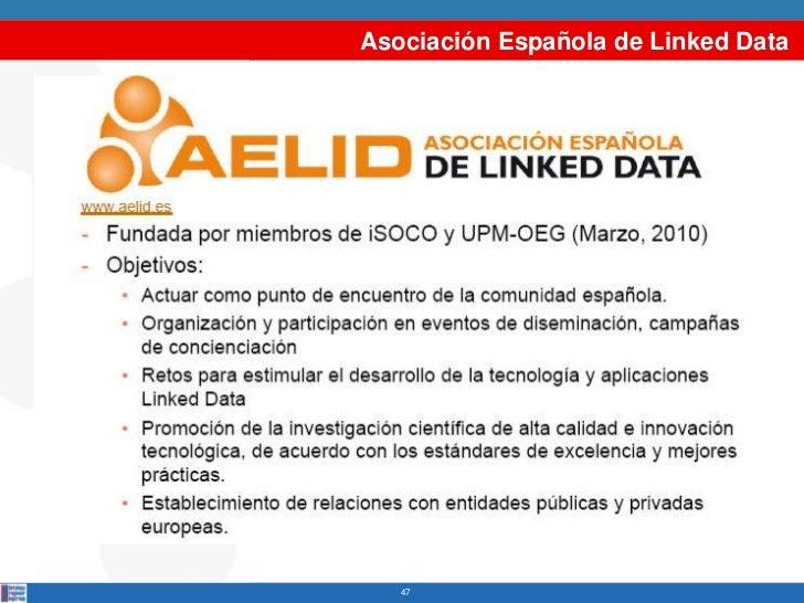 Asociación Española de Linked Data   47