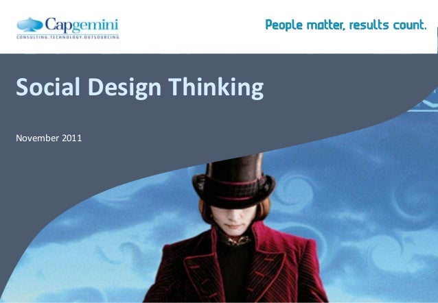 Social Design Thinking November 2011