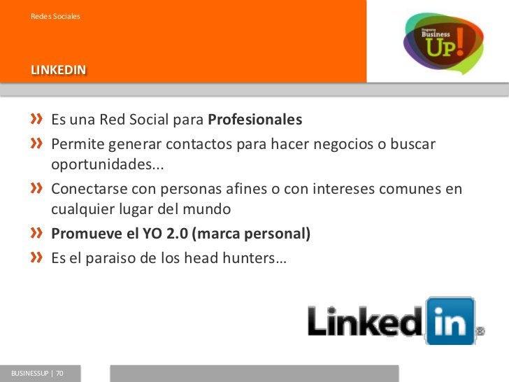 Redes Sociales     UN PERFIL EN LINKEDIN                               El perfil de Eduardo Reyes                         ...