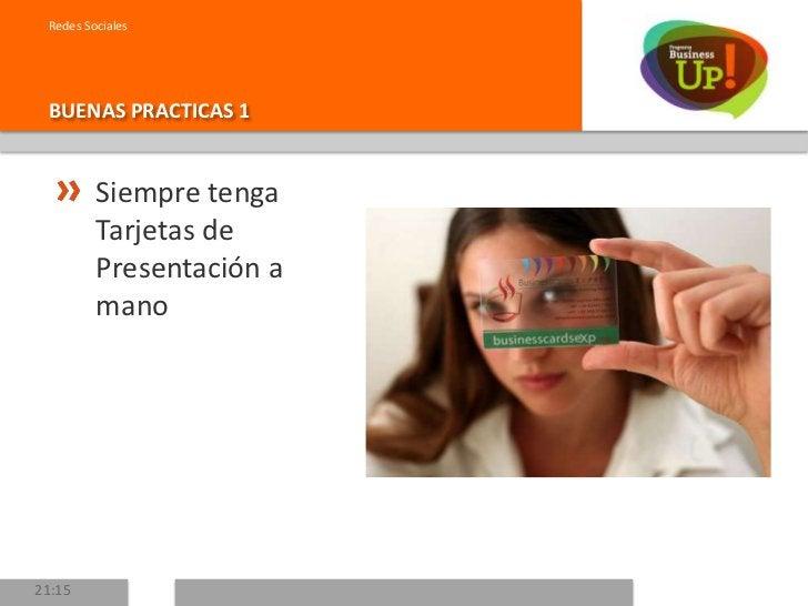 Redes SocialesBUENAS PRACTICAS 2        Cuando conozca        a alguien, trate        de capturar        datos escenciales...