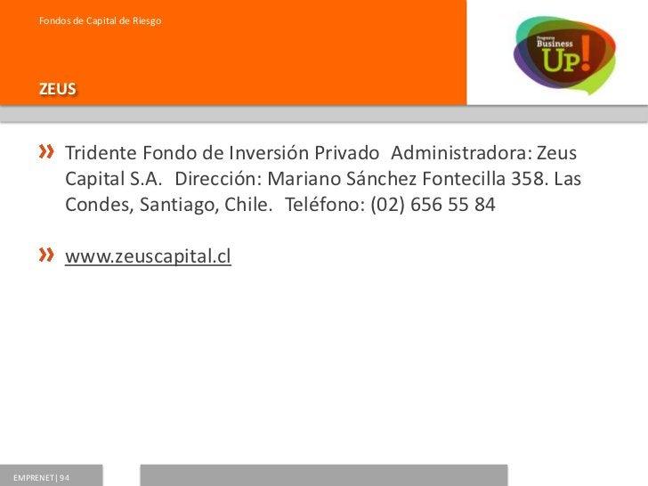 Fondos de Capital de Riesgo     COPEC UC           Fondo de Inversión Privado Copec - Universidad           CatólicaAdmin...