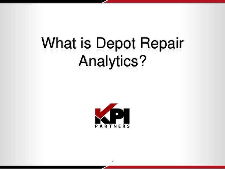 Webinar: Depot Repair Analytics for Oracle BI & E-Business