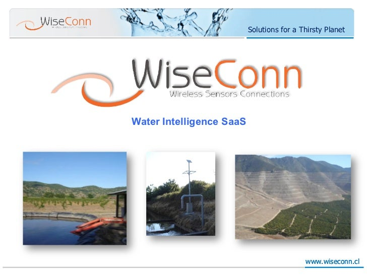 Solutions for a Thirsty Planet                          Water Intelligence SaaSWater Intelligence SaaS                    ...