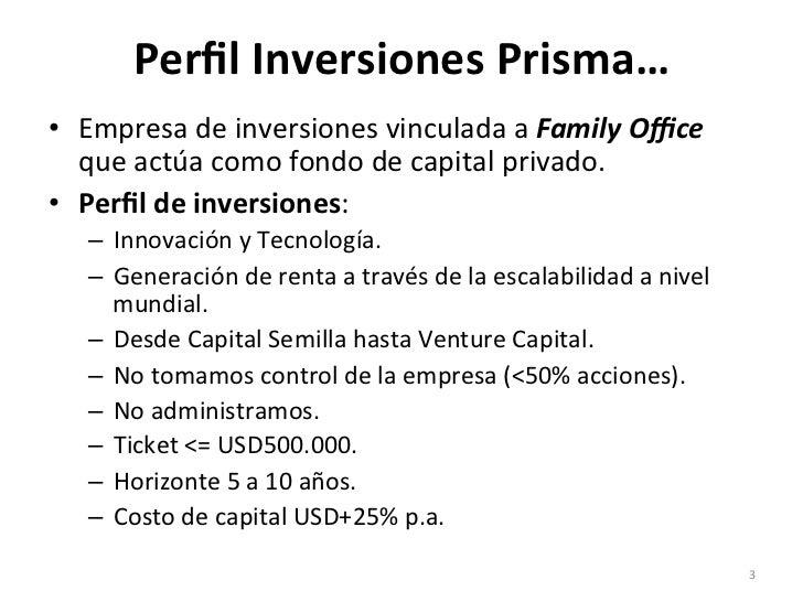 Taller de Financiamiento - Pablo Brancoli Slide 3