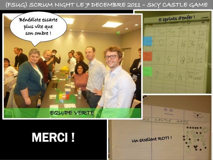 La Sky Team à la Scrum Night le 7 décembre 2011 Slide 3