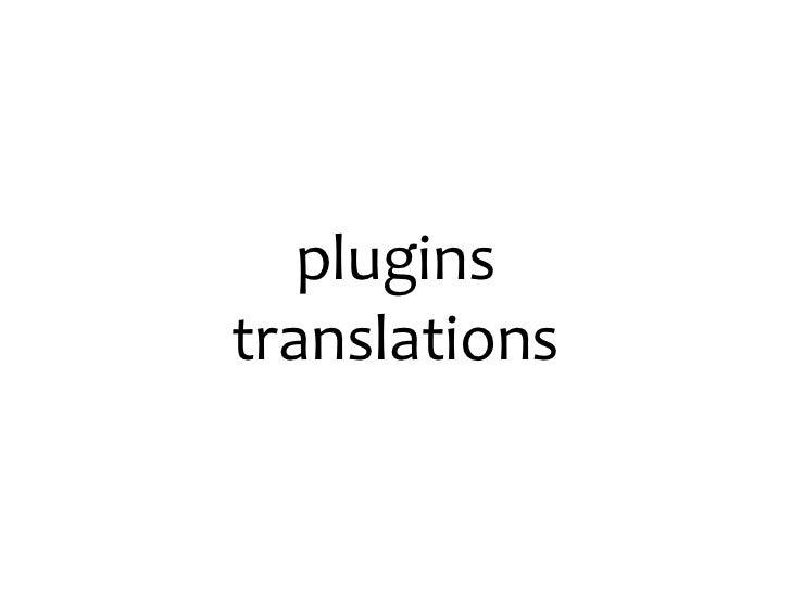 pluginstranslations