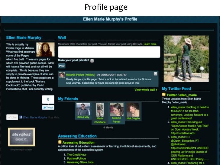 Explore Mahara furtherbit.ly/mahara-‐links