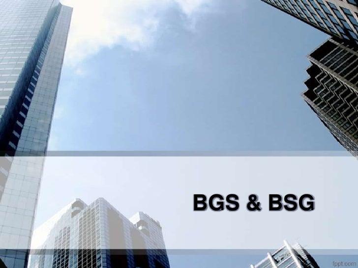 BGS & BSG