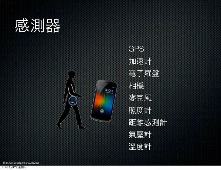 GPS http://senseable.mit.edu/co2go/11   12   17