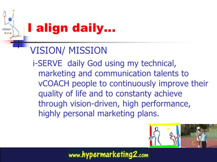 Vision and mission of giant hypermarket