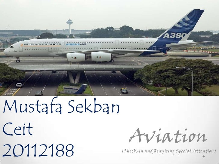 Mustafa SekbanCeit           Aviation20112188     (Check-in and Requiring Special Attention)