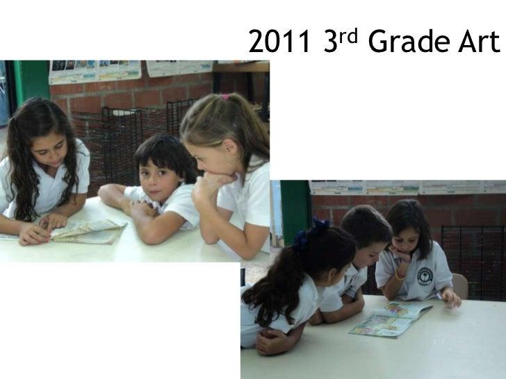 2011 3rd Grade Art<br />