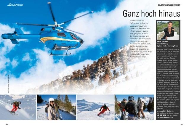42 lifestyle 43 Hochpustertaler Dolomiten-Höhenweg 43 Dolomiten Erlebnistouren 42 Reisen 4 Fotos:©shutterstock.com(1),www....